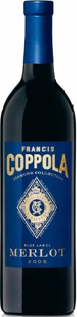 Francis Coppola Merlot Blue Label Diamond Collection
